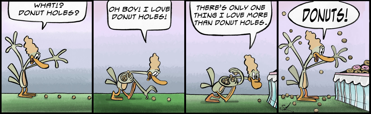 In Which Francis Discovers a Trail of Doughnut Holes